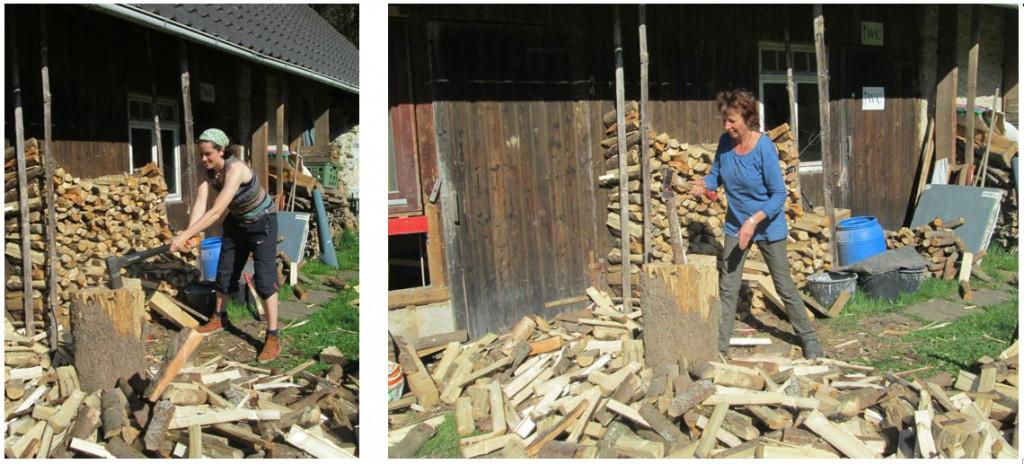 Holzmachen ist Frauensache